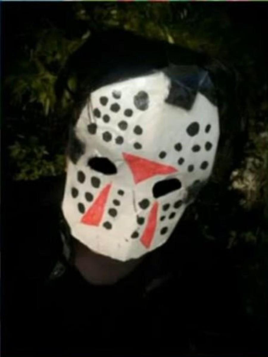 Finley's cosplay of Jason Voorhees