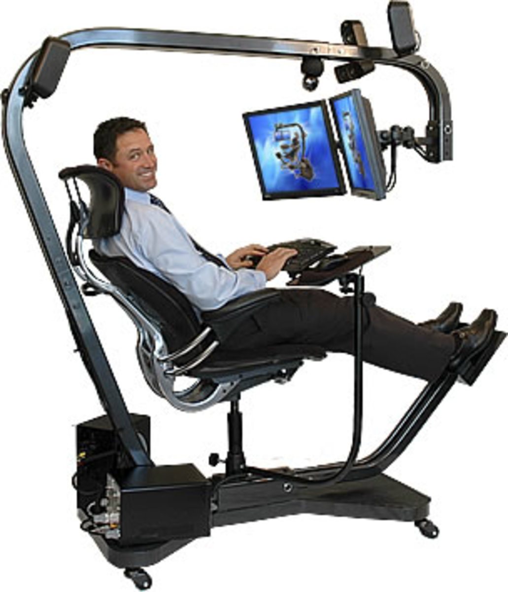 Ergonomic Computer Chair: This one is a bit extreme