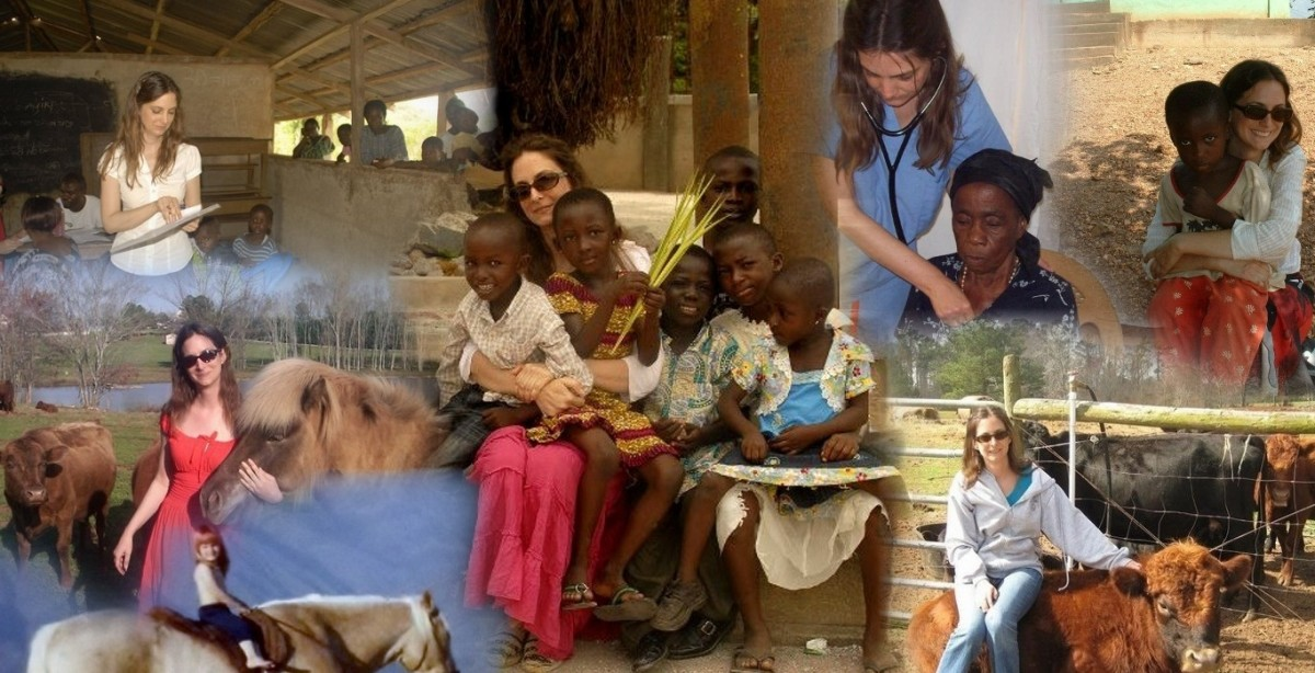 Who is Dr. Gabriella Nanci, and What is Yonkofa Project Inc. in Ghana?