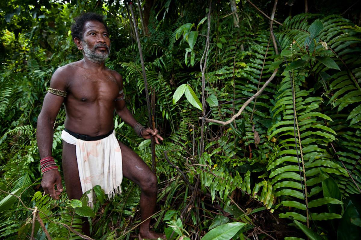 An Agta tribesman.