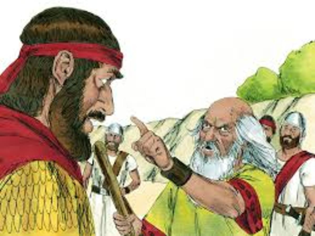 """Saul, you did not obey the voice of the LORD! Rebellion is as the sin of witchcraft!"""