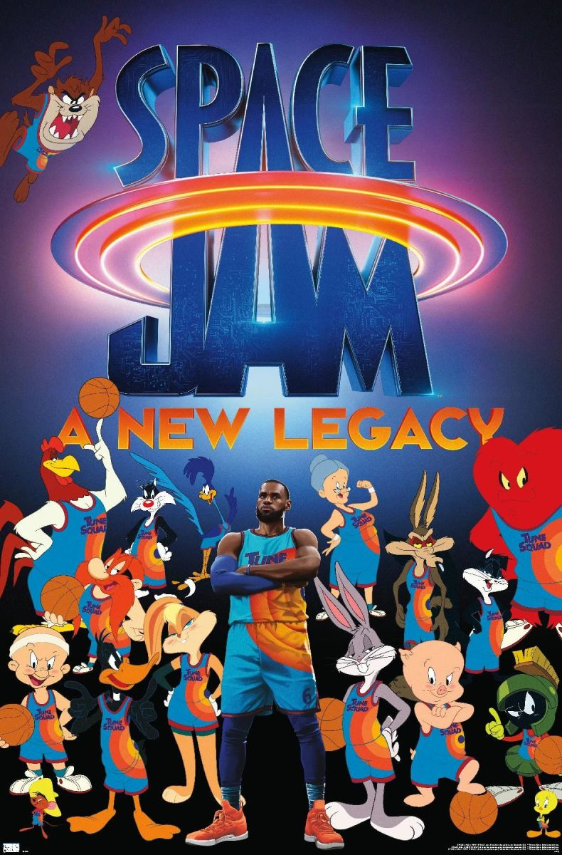 """""""Space Jam: A New Legacy"""" Poster"""