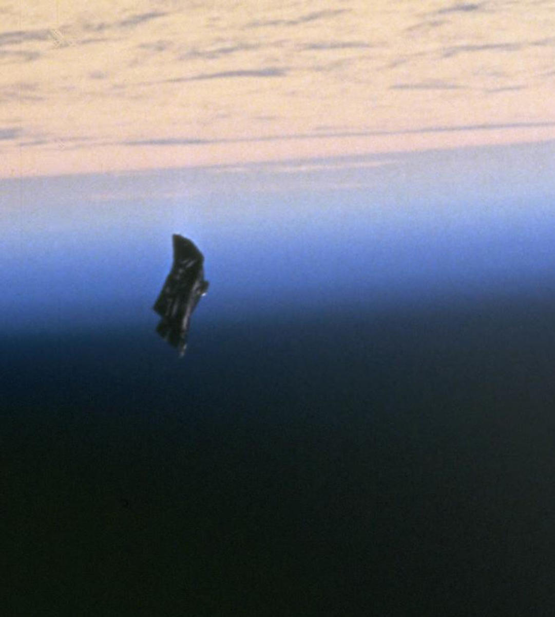 Exploring the Mystery of the Black Knight Satellite