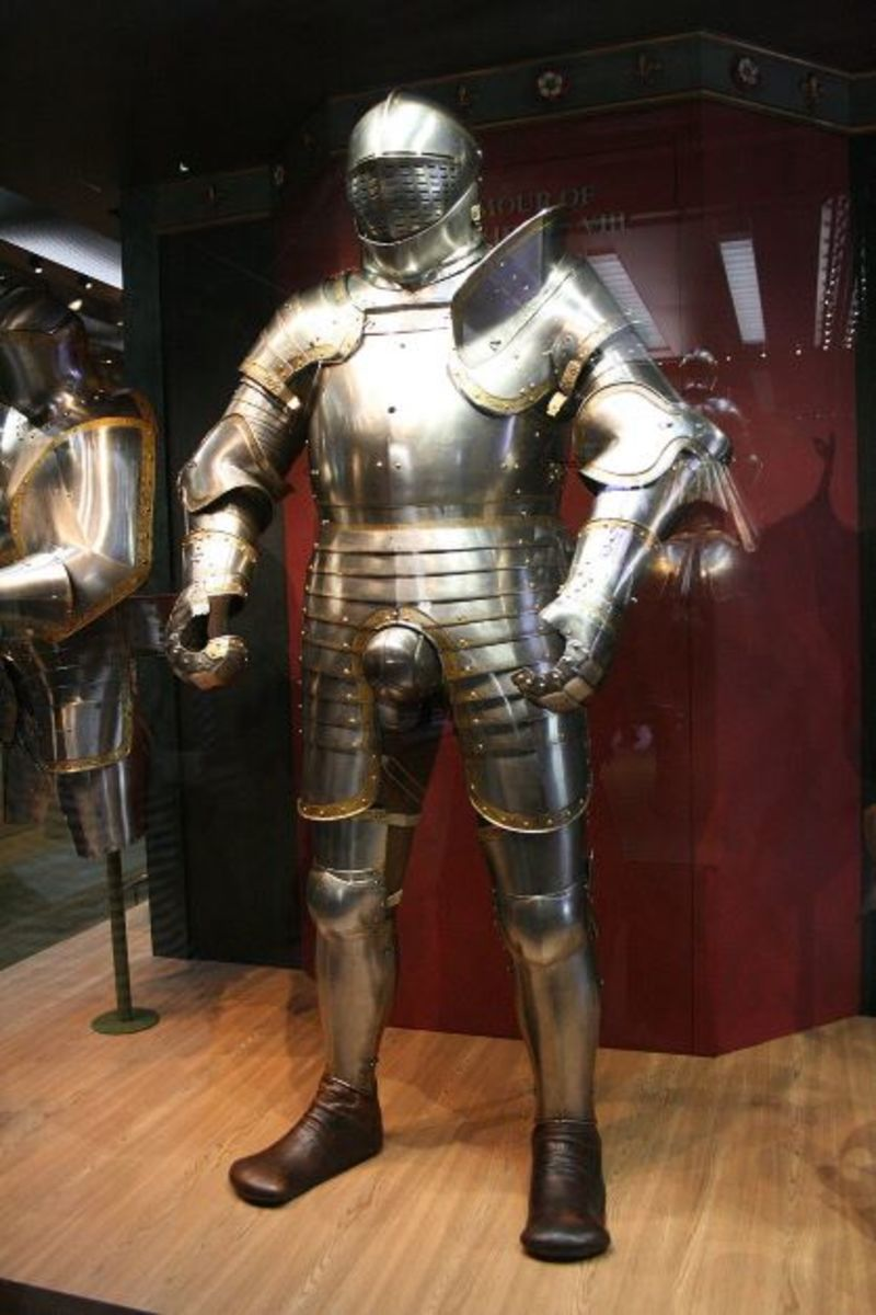 King Henry VIII's suit of armour.