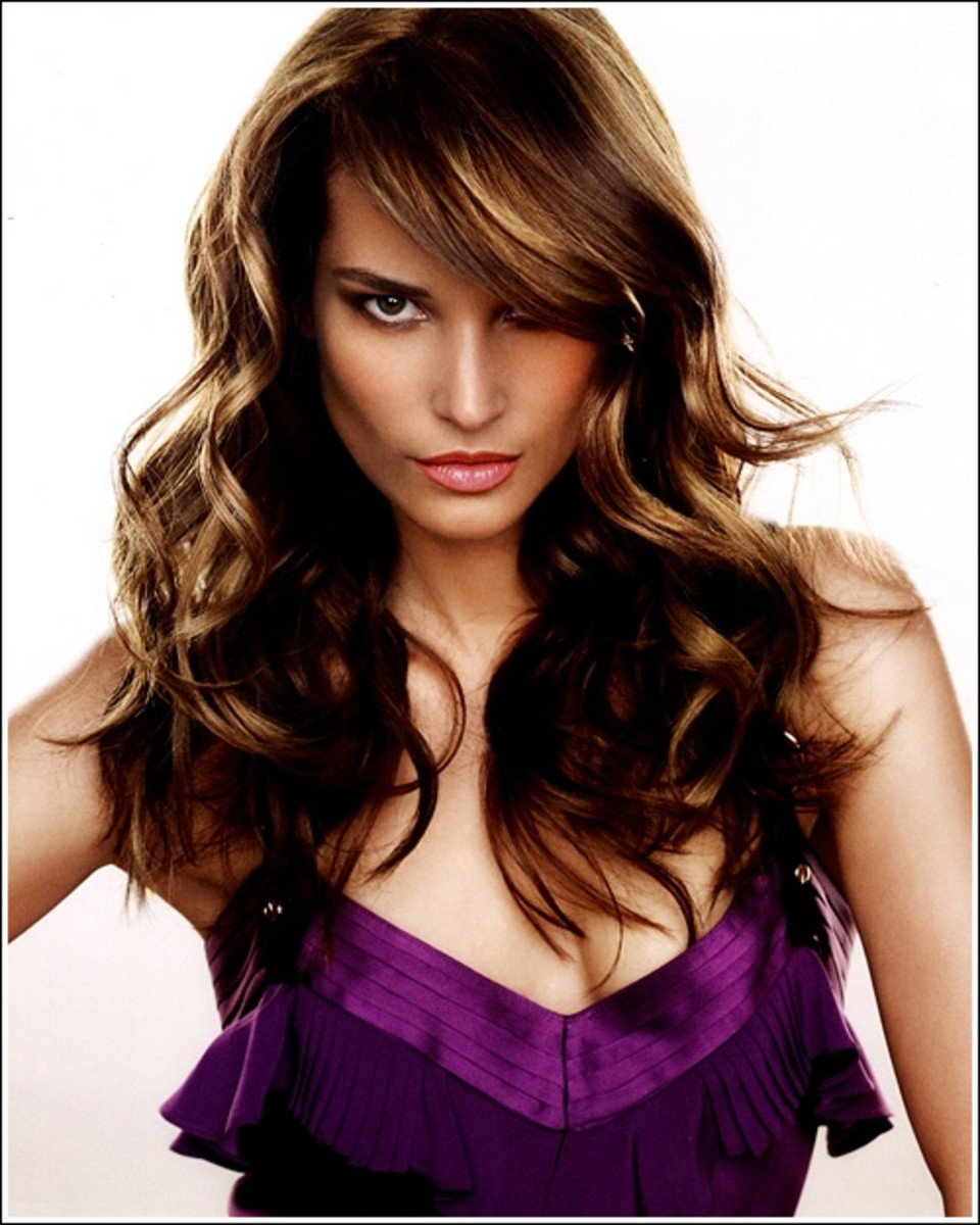 medium loose curls hairstyles for wedding