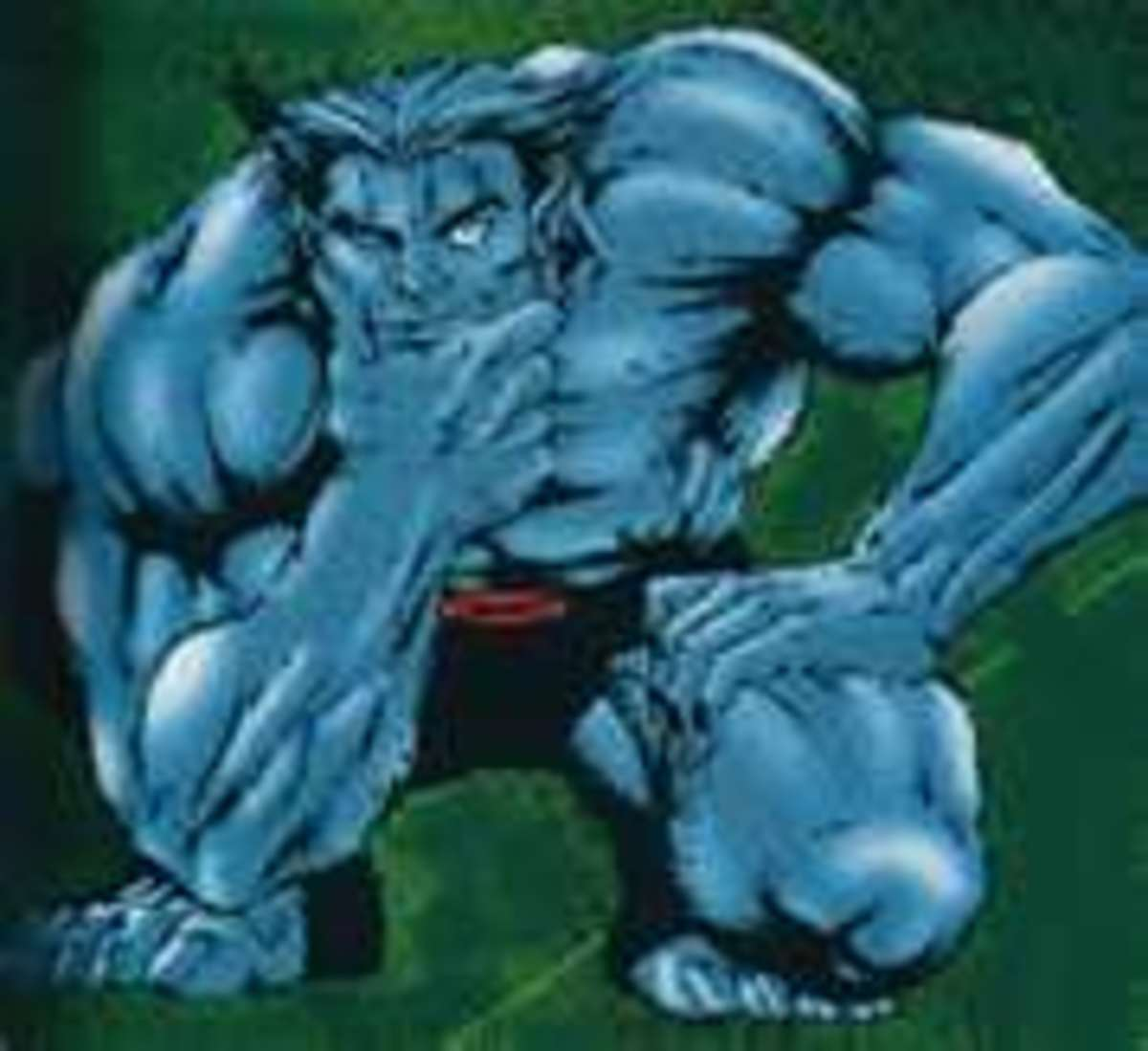 The Beast is wise, strong and agile. His attributes make him an idea X-man