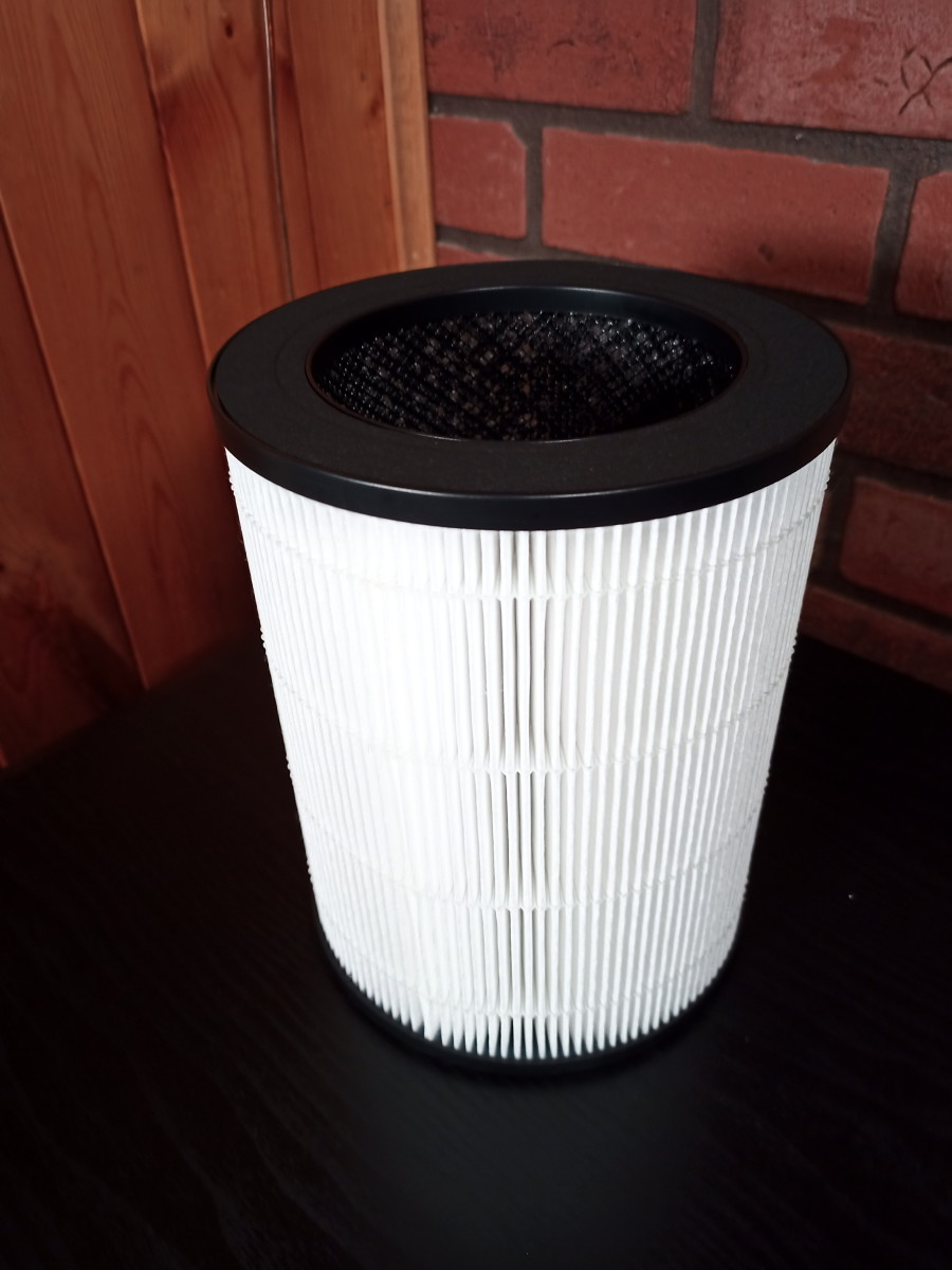 HEPA/activated carbon filter