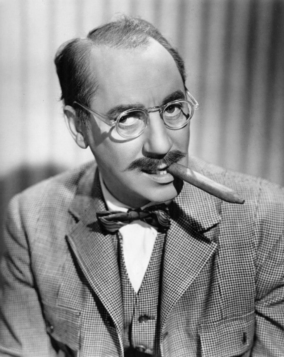 """Groucho Marx gave us the zeugma """"Time flies like an arrow fruit flies like a banana."""""""