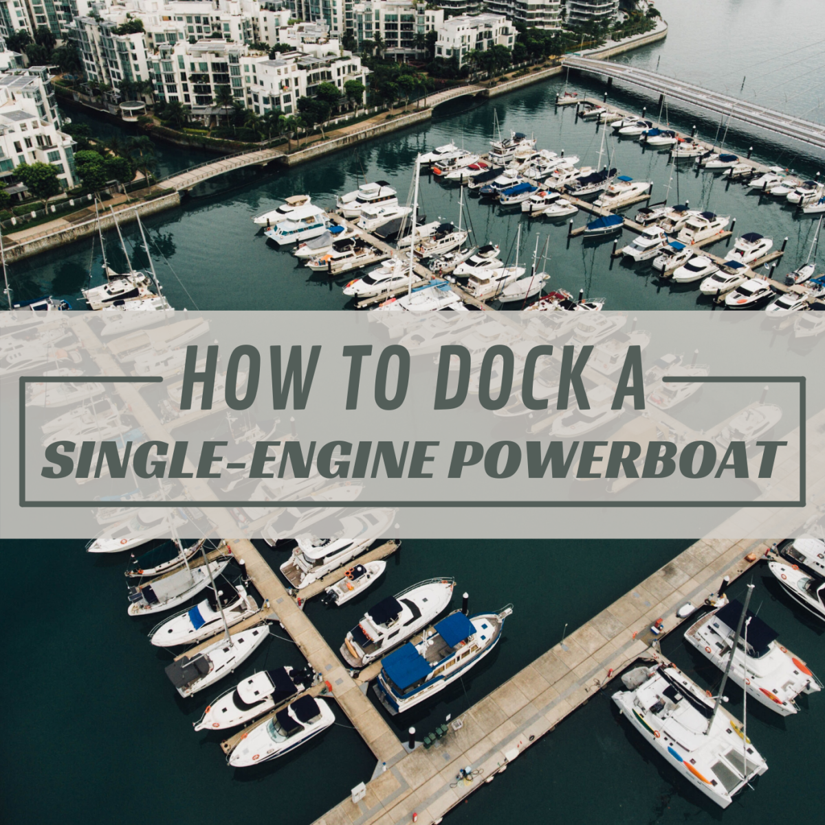 Docking a single-screw boat, even into a tight slip, is much simpler than it's made out to be.
