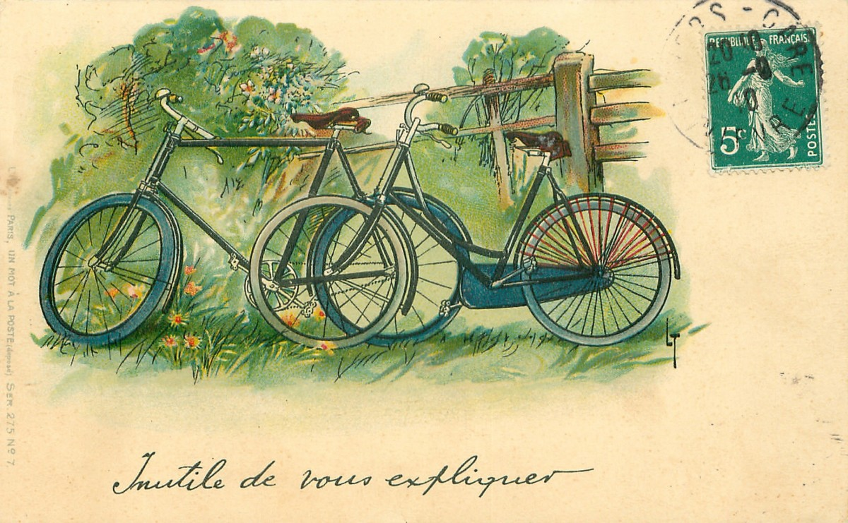 Bicycles! A nineties kid may remember when it became the rule to wear a helmet when riding the bicycle.