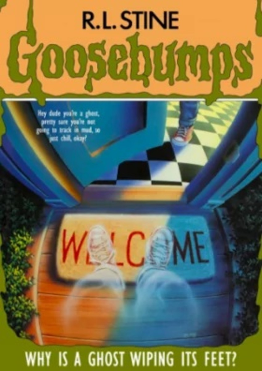 Goosebumps was a series of children's books by author R.L. Stine, that were mega bestsellers in the nineties.