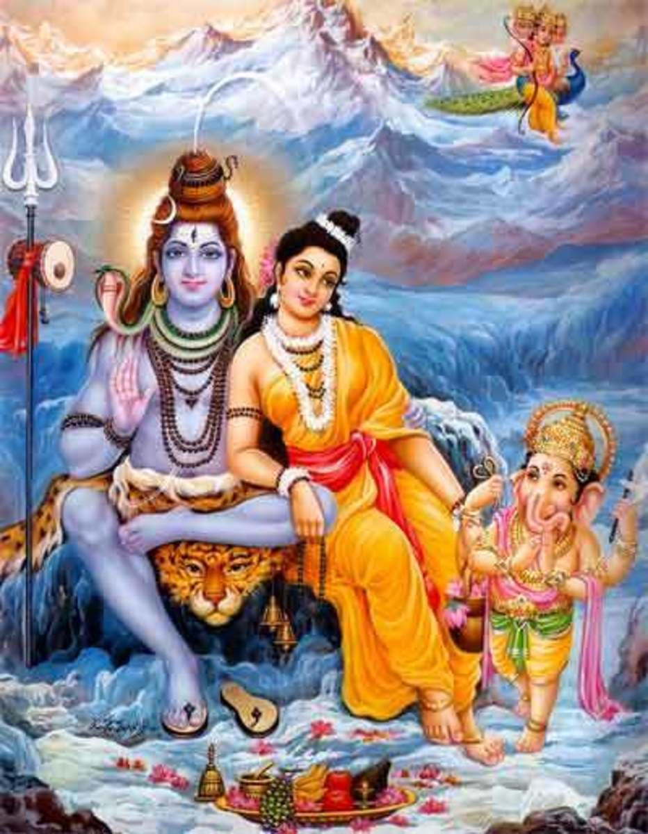 The Shiva Family ....