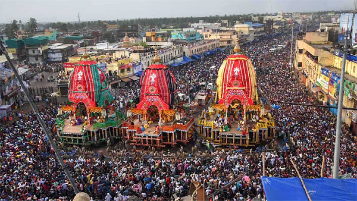 Jagannath Rath Yatra ....