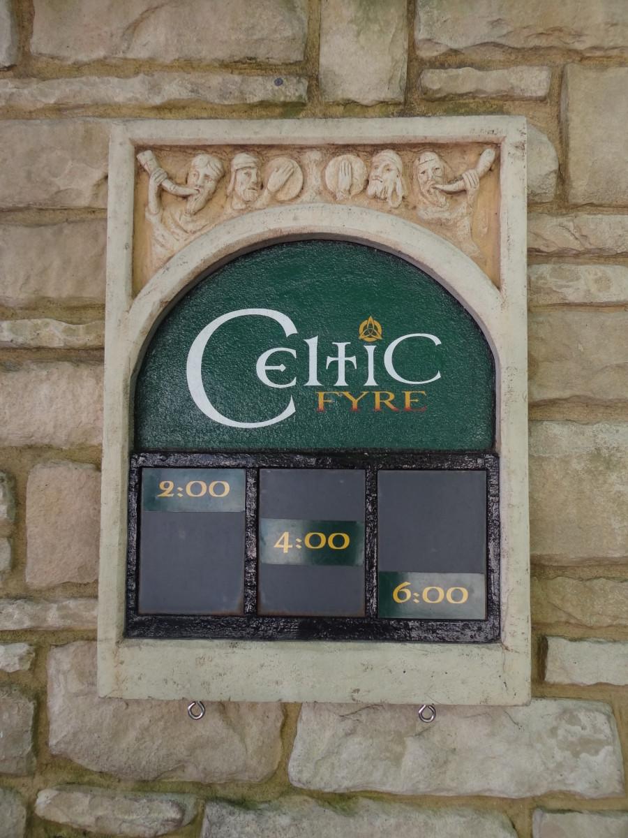 Celtic Fyre Show Times, Bush Gardens