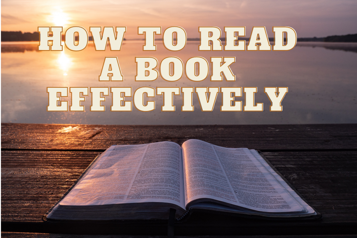 How to Read a Book Effectively
