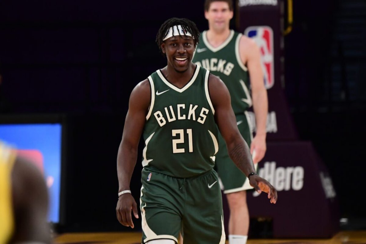Jrue Holiday had a pretty shaky round vs Brooklyn. He will need to bounce back as he will most likely be tasked with guarding Trae Young.