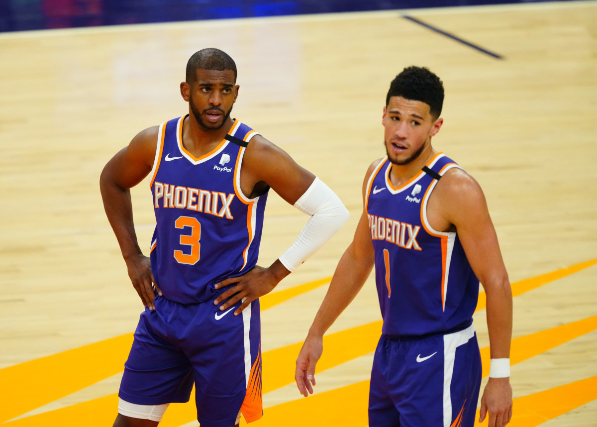 We see that when CP3 comes back the Suns will take firm control of this series. Suns in 6