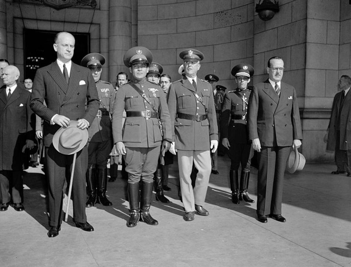Batista in Washington, DC in 1938 - Library of Congress