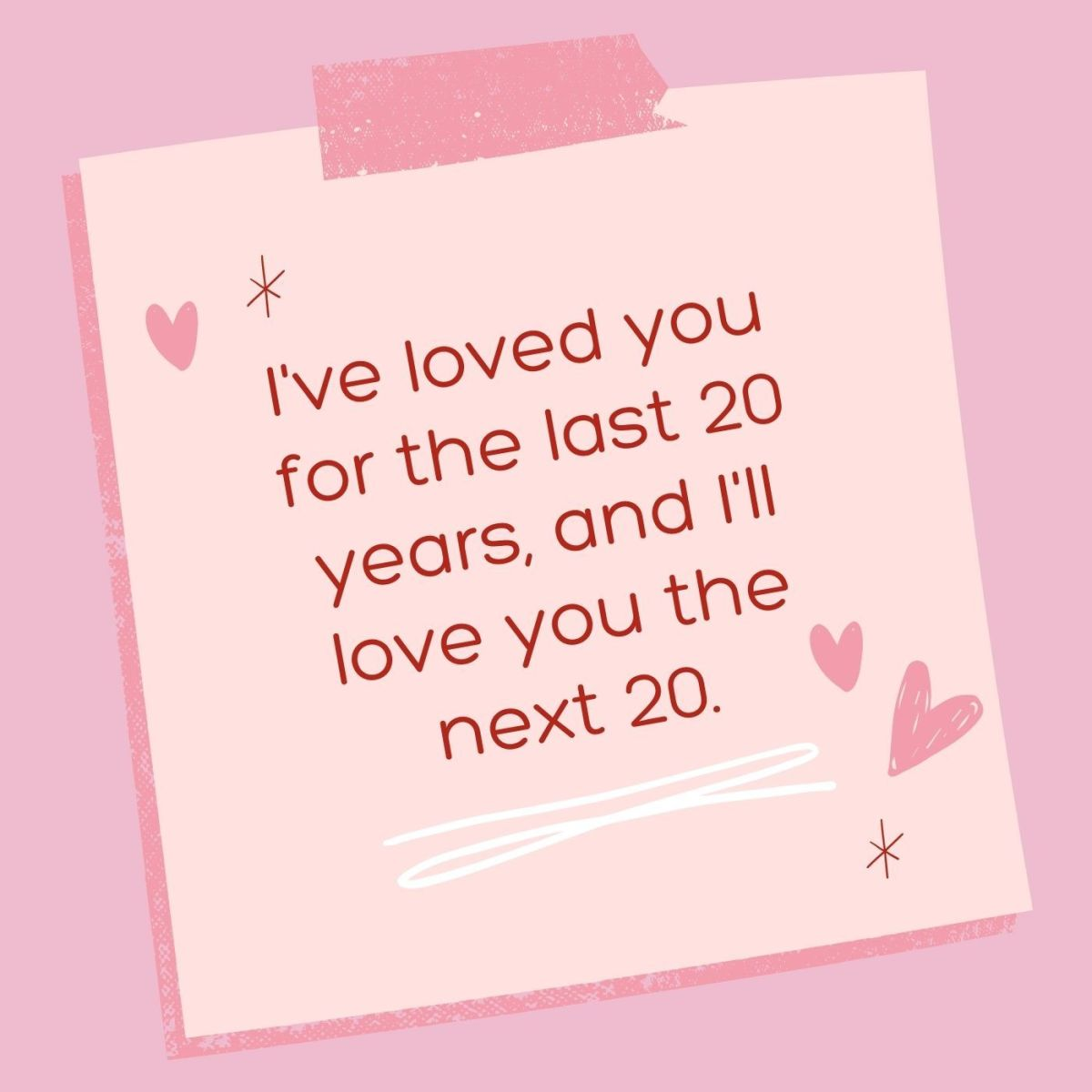 20 more years, please!