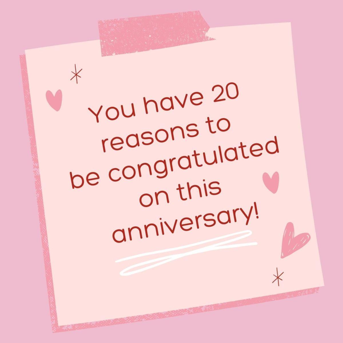 Hope you get 20 more reasons.