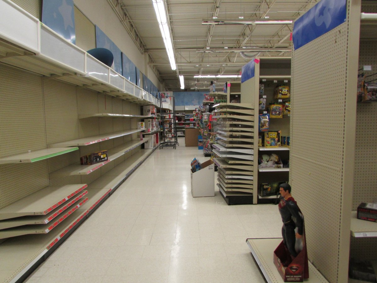 Empty Shelves and Isolating Workers.