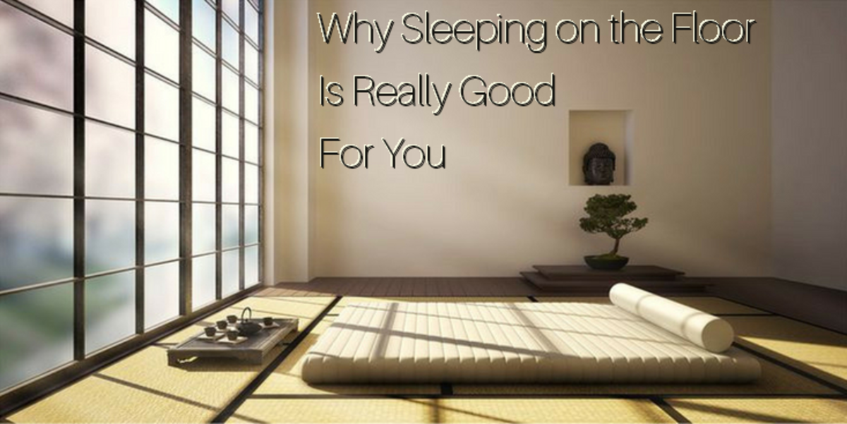 Why Sleeping On the Floor Is Really Good for You