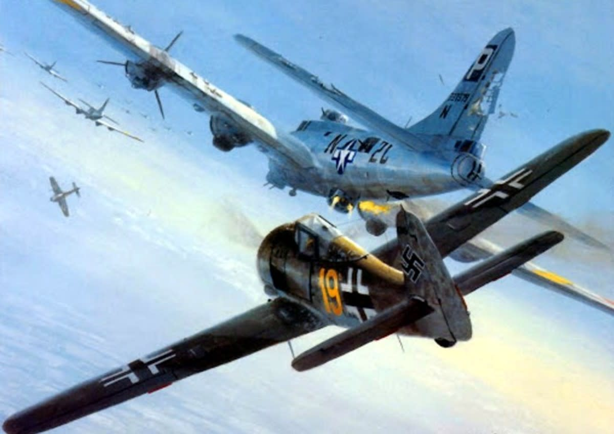 an-overview-of-the-schweinfurt-bombing-raid-in-1943