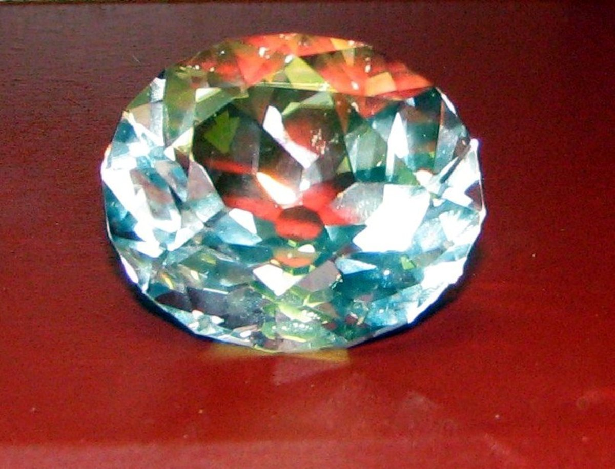 Glass replica of the Koh-i-Noor Diamond