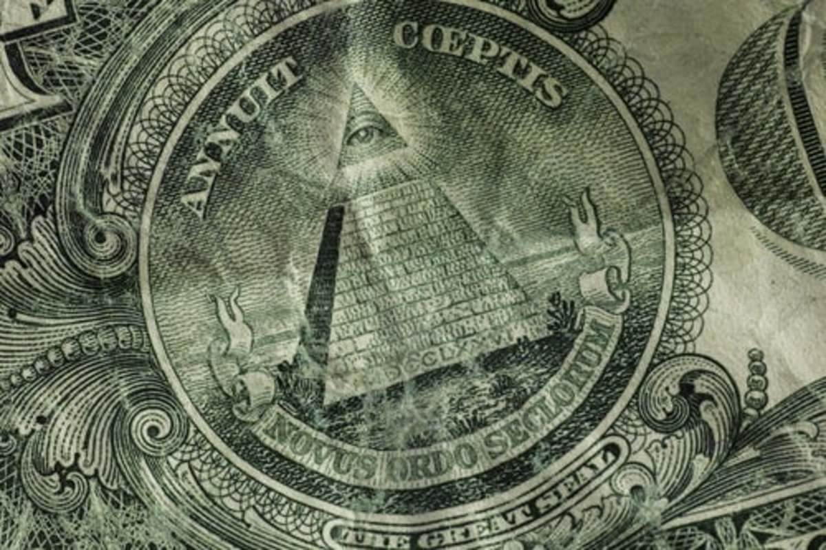 Illuminati -All Seeing Eye Great Seal of U.S