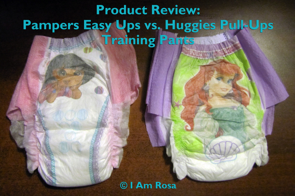 Product Review: Huggies Pull-Ups vs. Pampers Easy Ups Training Pants