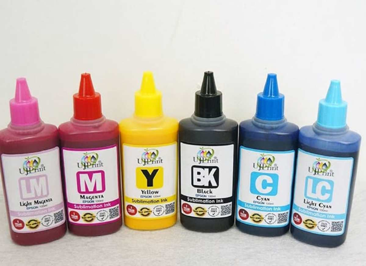 Sublimation inks come in a good variety of colors
