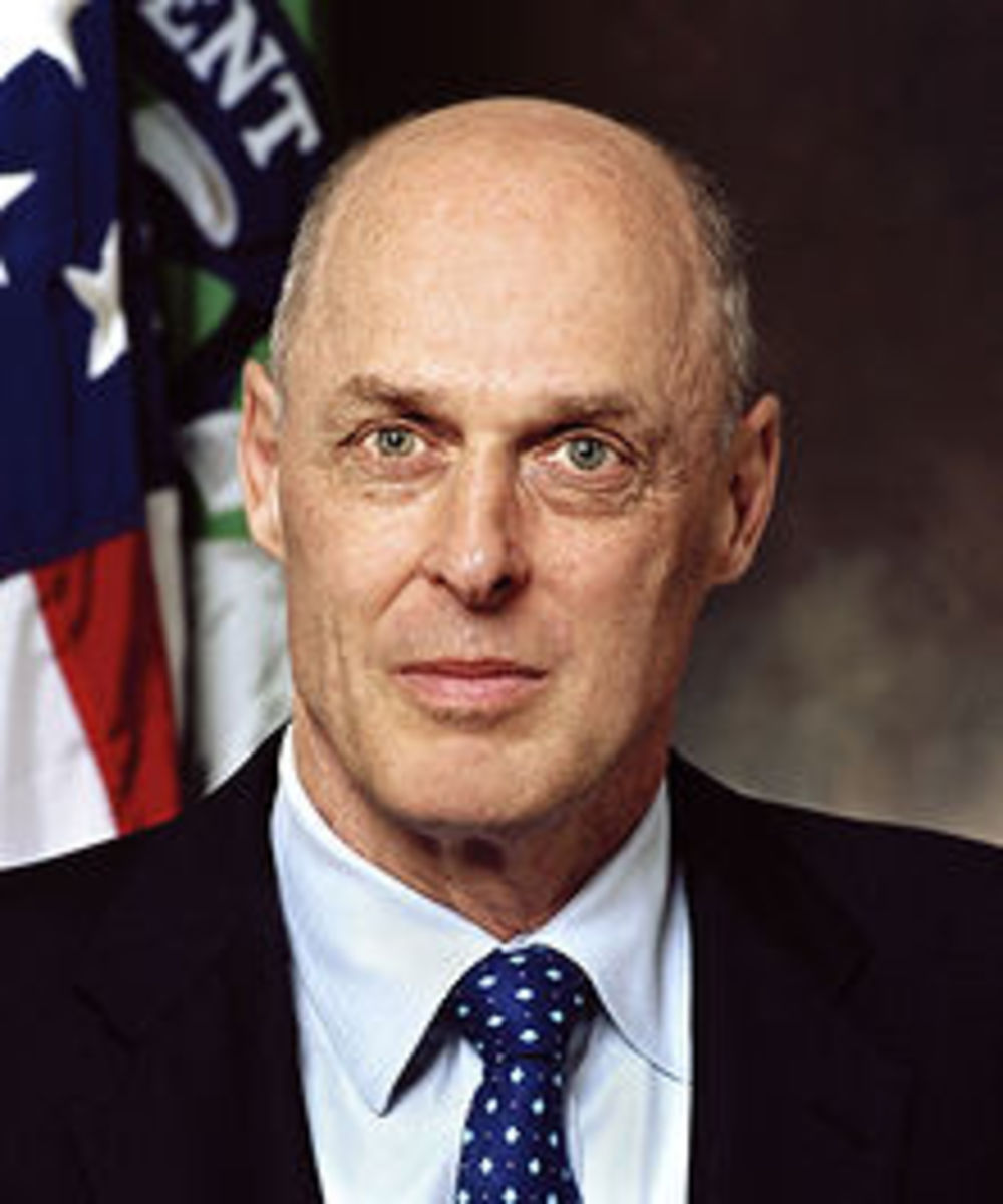 HENRY PAULSON, SECRETARY OF THE TREASURY FOR PRESIDENT GEORGE W. BUSH-PROMOTED THE ECONOMIC POLICIES LEADING TO THE RECESSION BUT MADE THE DECISION TO SET-UP TARP AND THE AUTO BAIL-OUT, BOTH CRITICAL TO PREVENTING A DEPRESSION