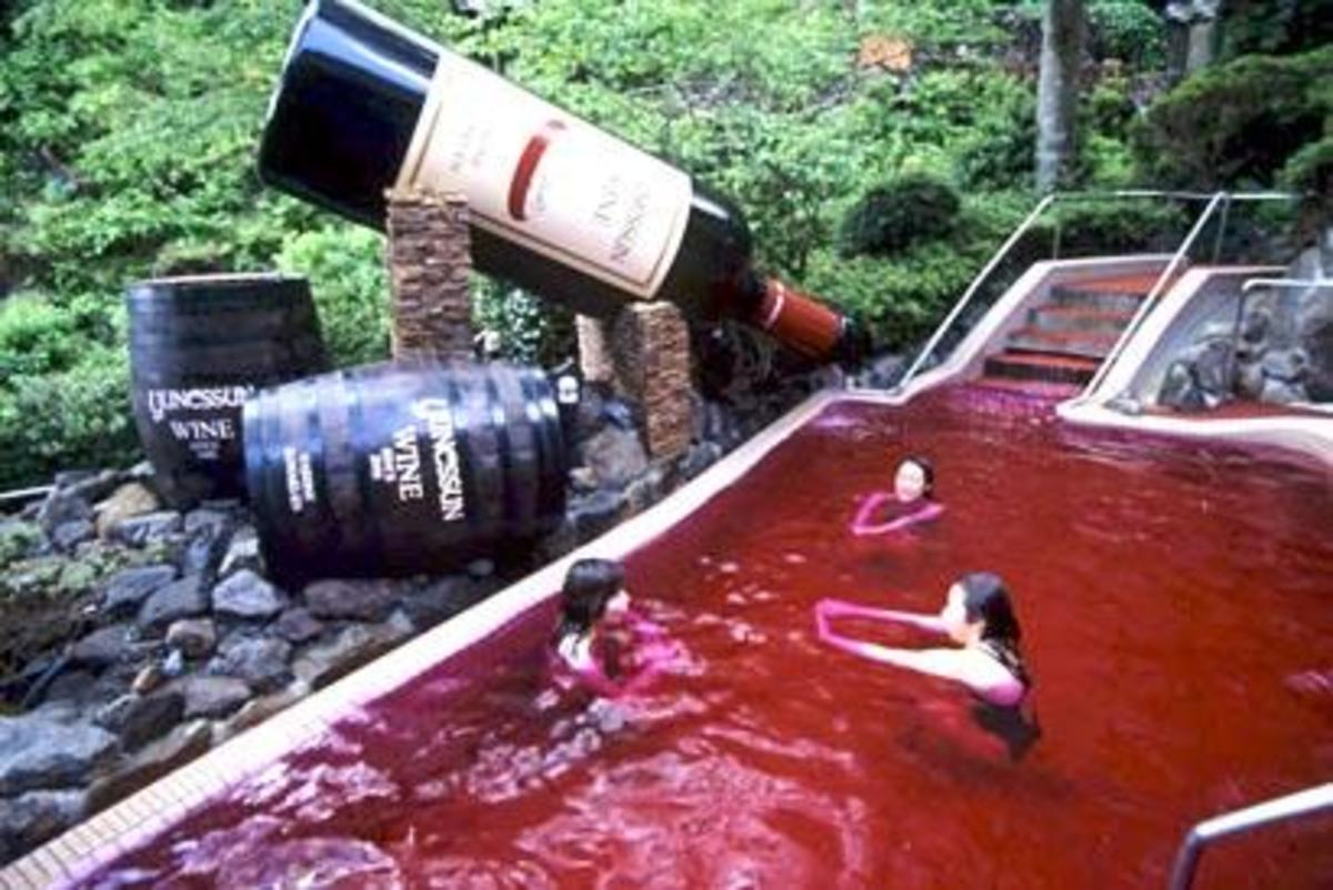 Red Wine pool