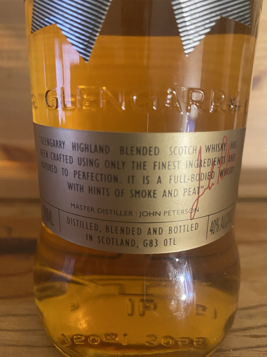 strict-budget-whiskey-the-glengarry-highland-blended-scotch-whisky