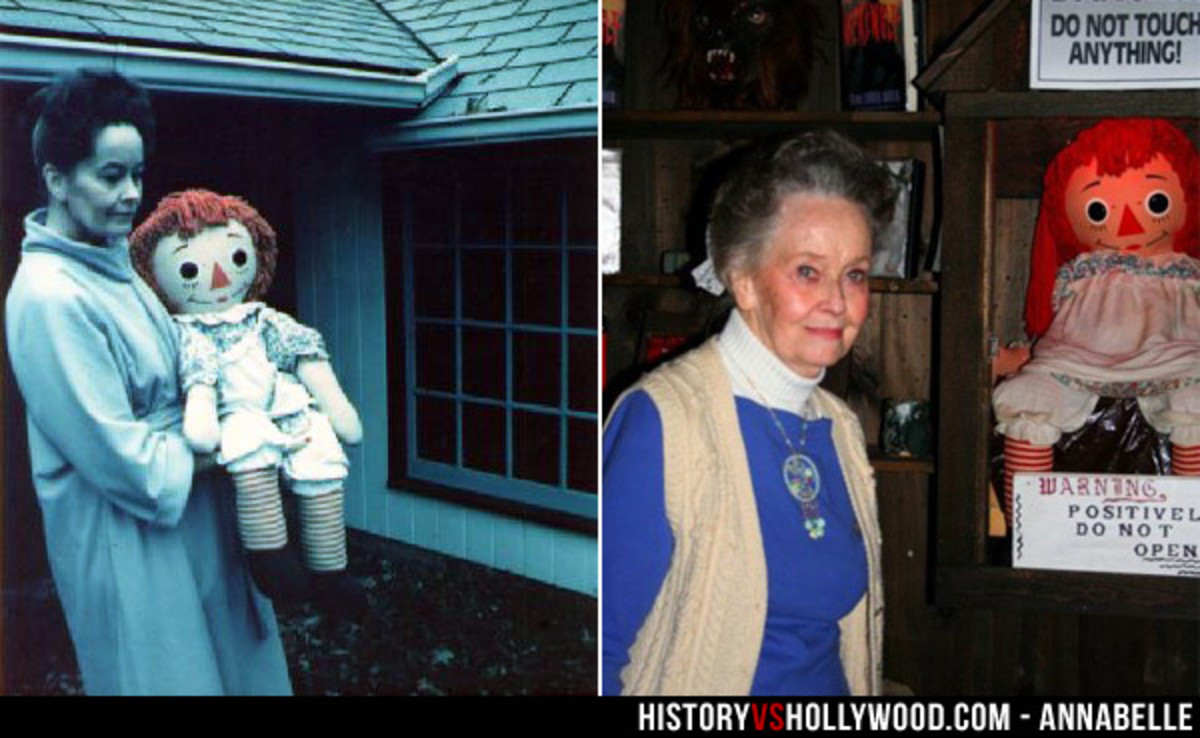 The Real Annabelle (Photo Does Not Belong To Me)