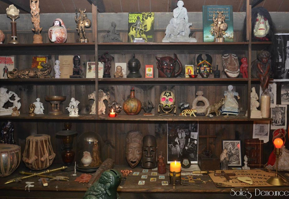 The Warrens' Occult Museum (Image Does Not Belong To Me)