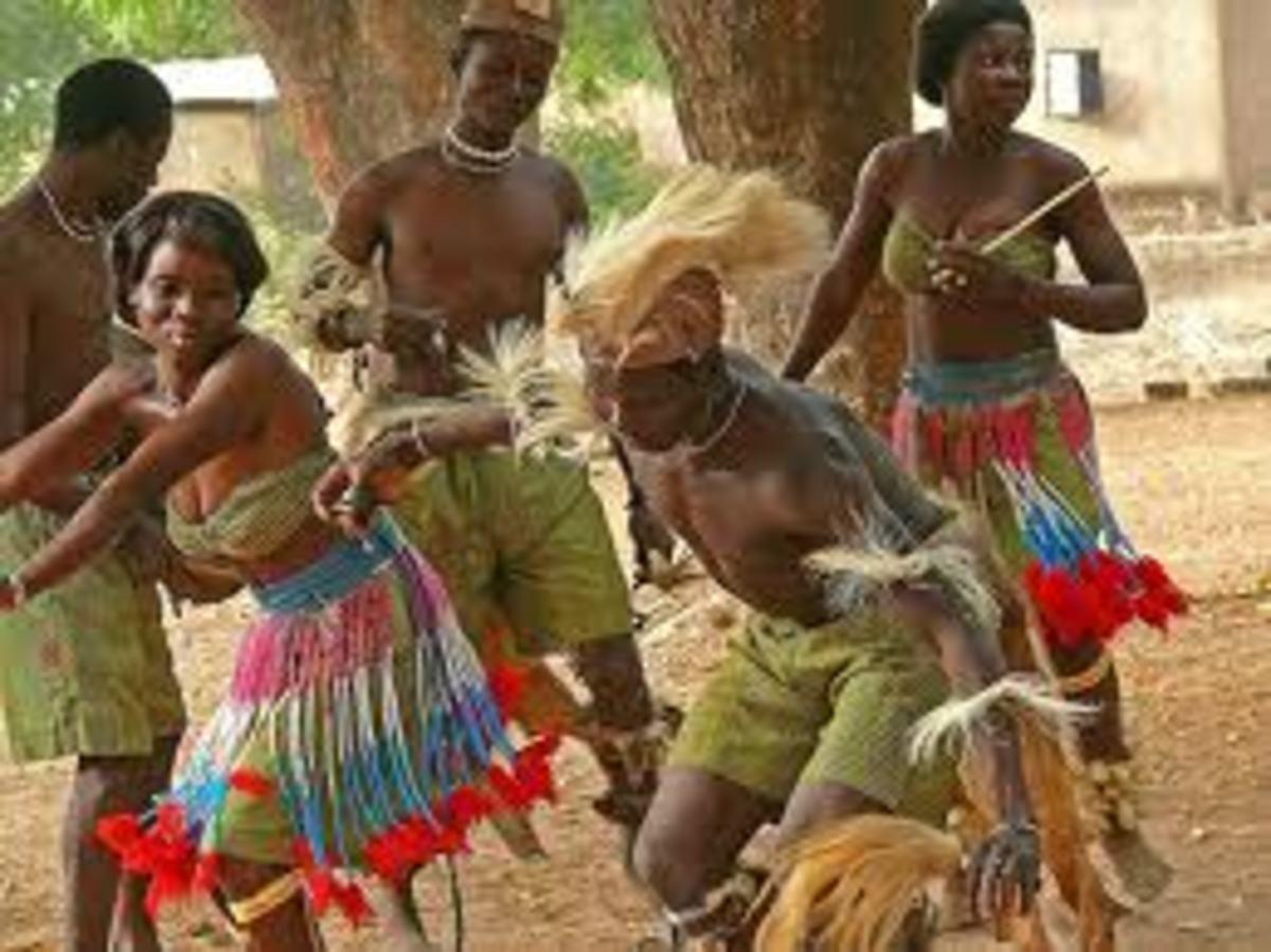 African Togo Dance