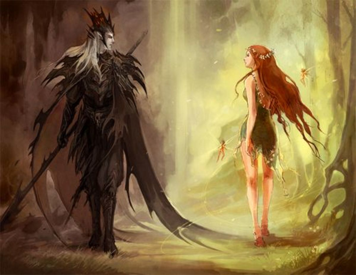 Hades and Persephone.