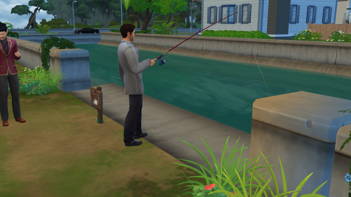 Fishing for food and money!