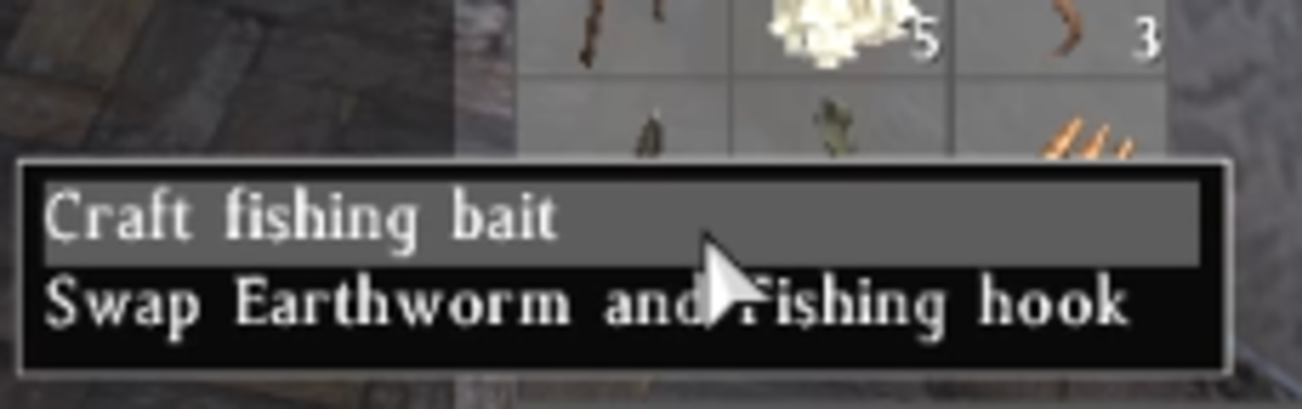 Fish bait will need to be crafted and added to the Small Fish Trap.
