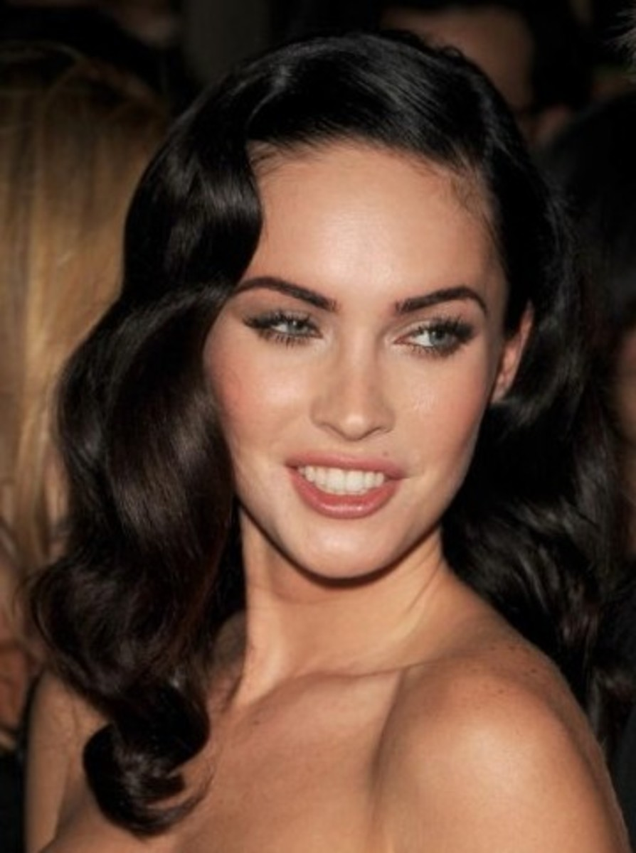 40s glamour waves