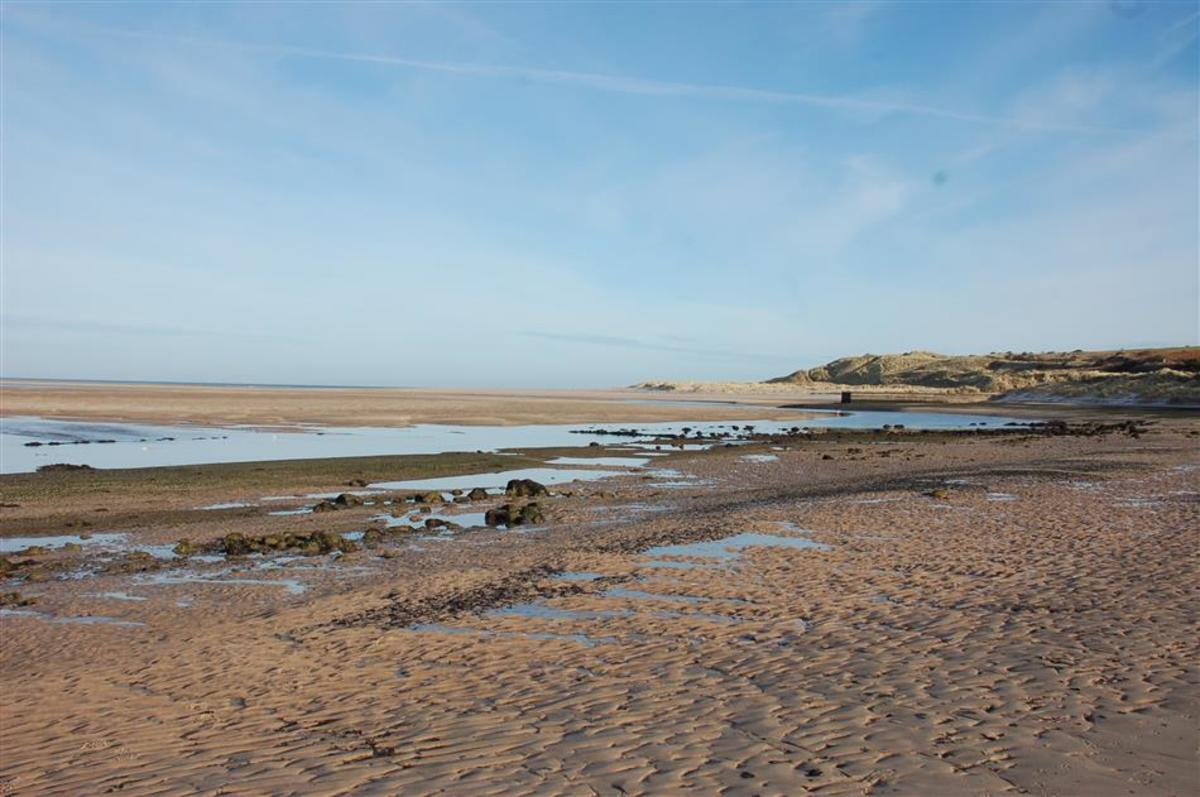 Kiln Point, Budle Bay, just north of Bamburgh -  source of lime for agriculture
