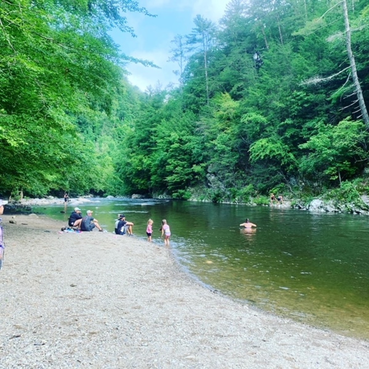 The Beach at Little River