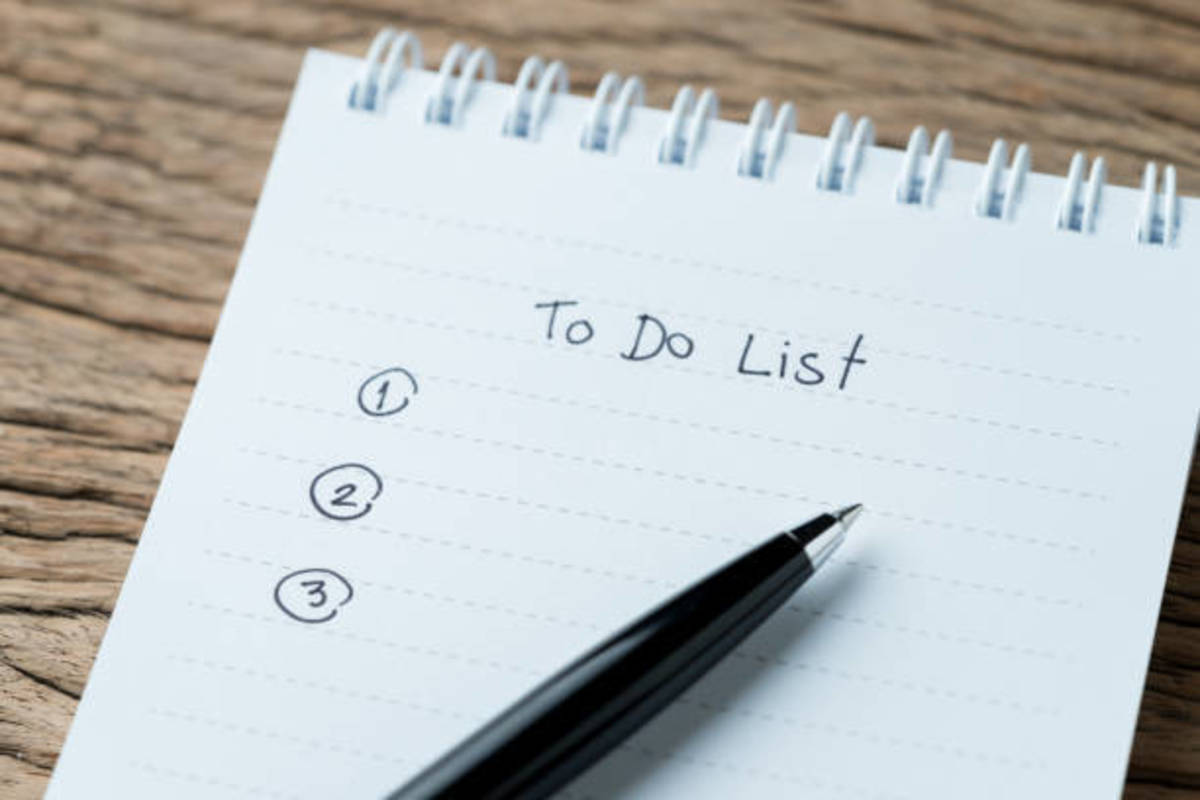 Managing to-do lists help some people to stay motivated but for others, organization tips just don't help.