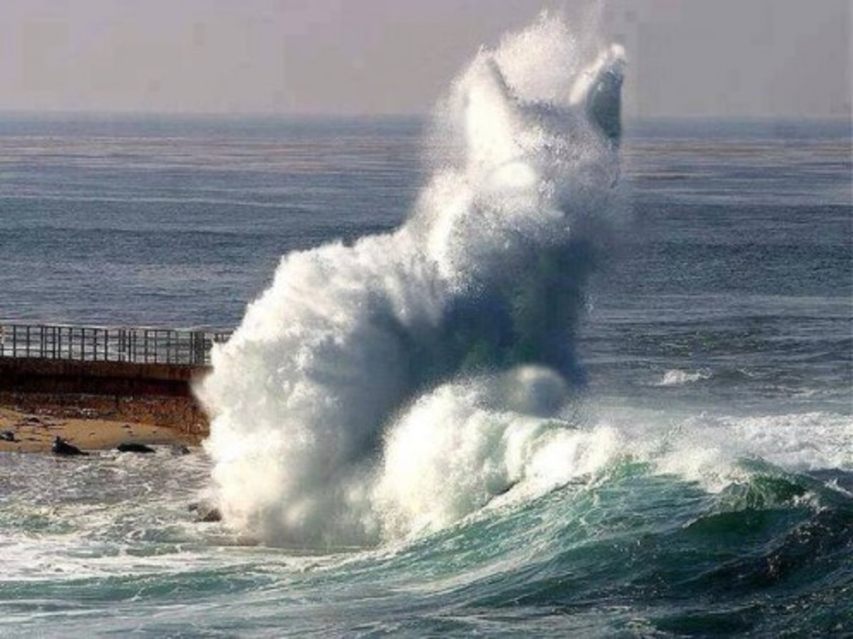 Now that's a wave.