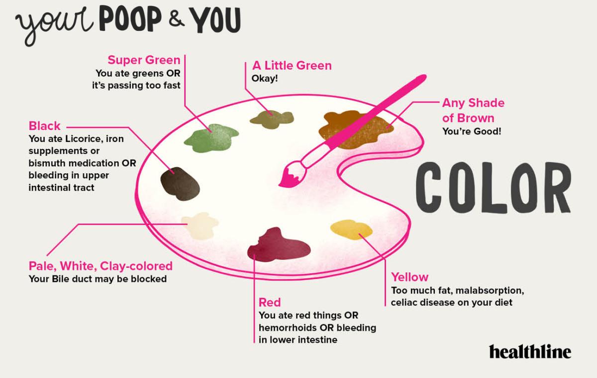 Poop chart color
