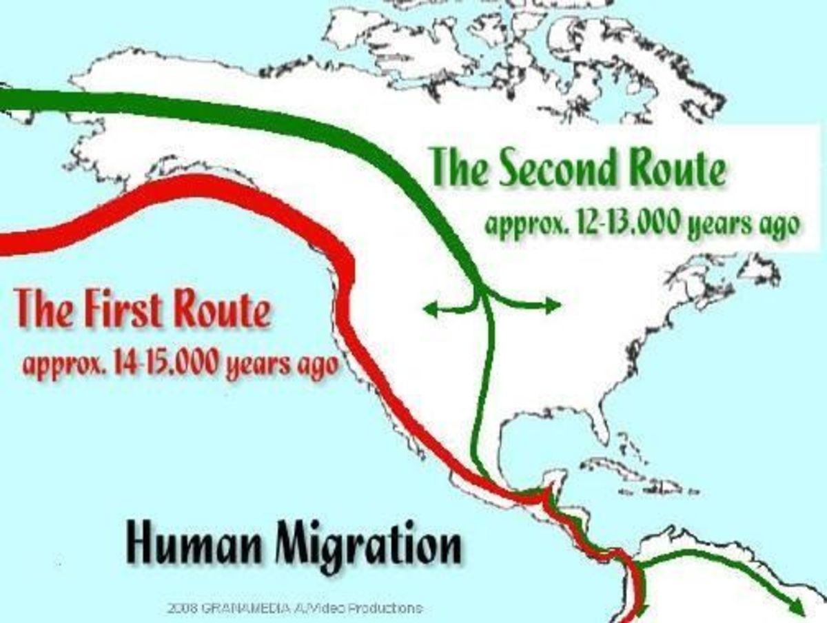 Two Routes of Migration
