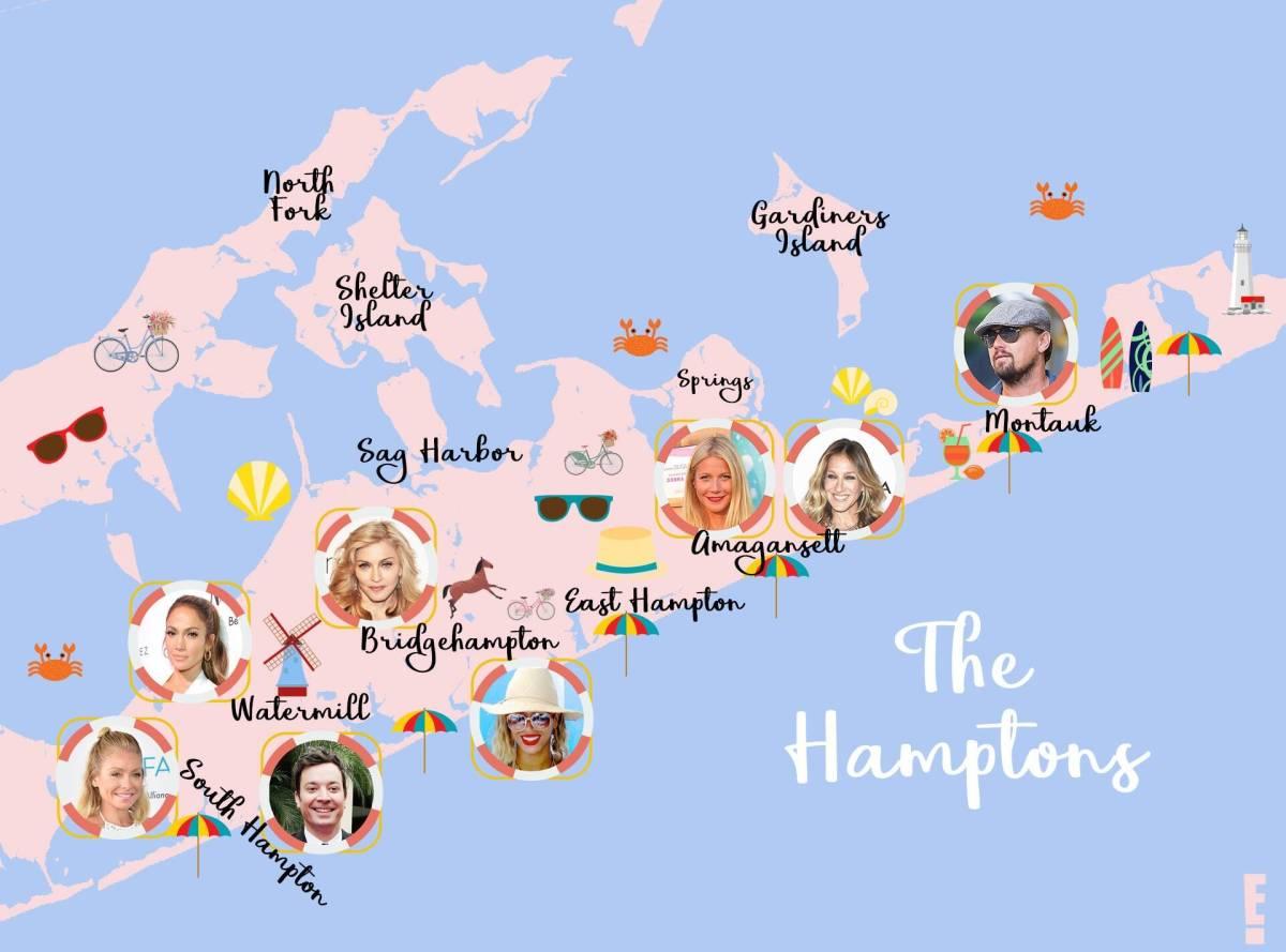 Celebrities of East Hampton