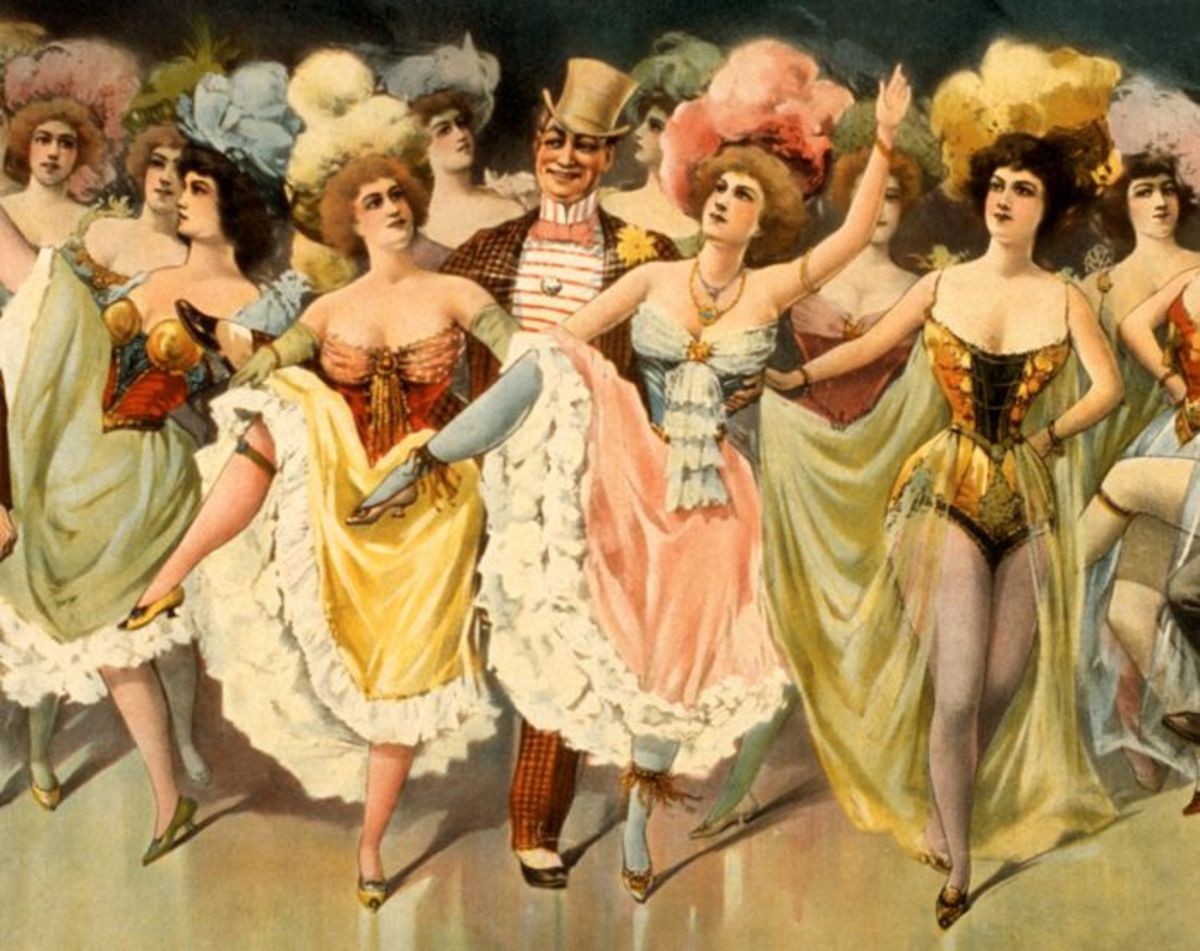 Saloon girls have been around forever.