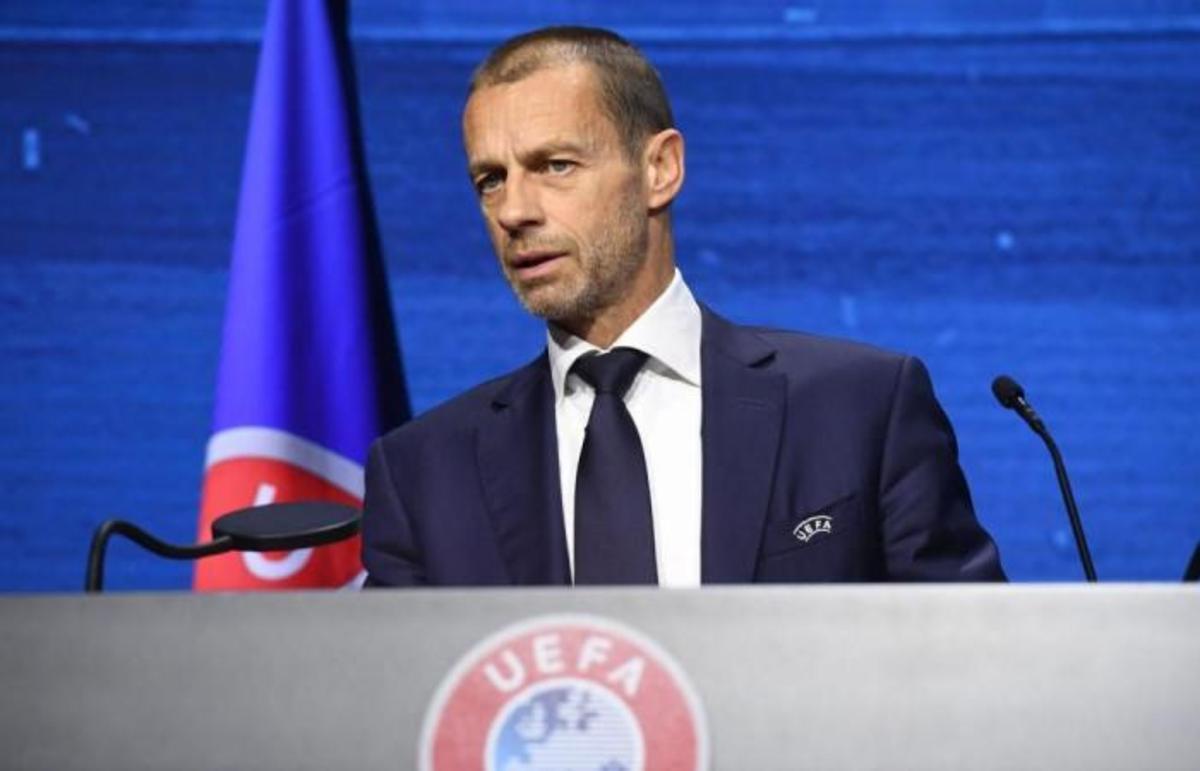 Aleksander Ceferin, the UEFA President